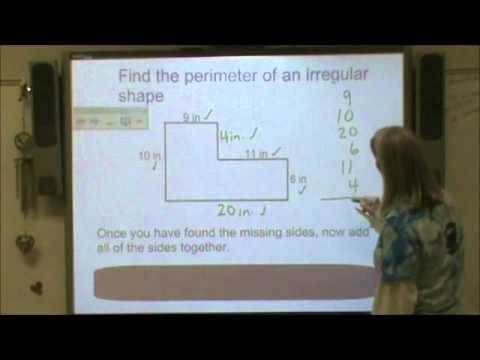how to find the surface area of an irregular shape