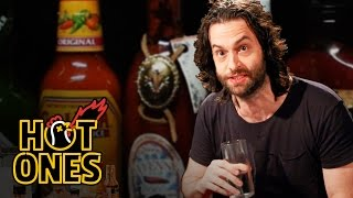 Chris D'Elia Turns Into DJ Khaled While Eating Spicy Wings | Hot Ones