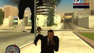GTA San Andreas: CJ Contra King Kong