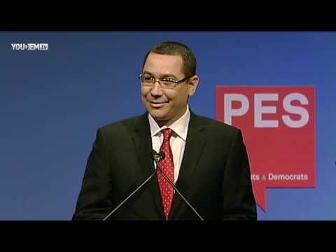 Victor Ponta's speech - PES Election Congress