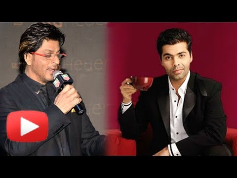 Shahrukh Khan Does Koffee With Karan - Kunal Kohli, Punit Malhotra,Tarun Mansukhani