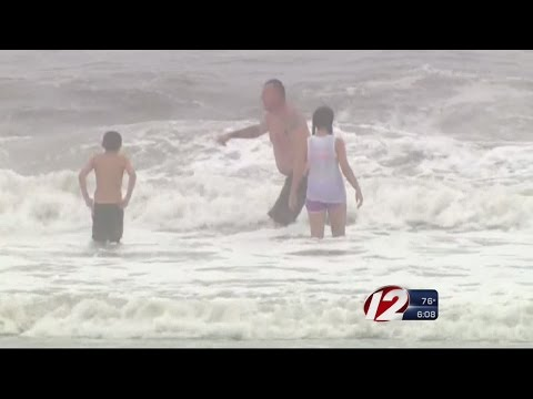 HEALTH recommends several swimming bans after storm