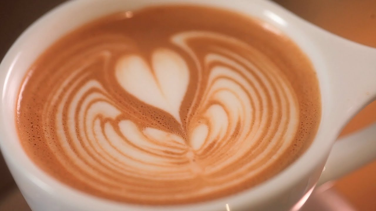 Latte Art Tulip How to Pour a Rippled ...