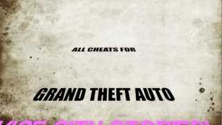 GTA Vice City Stories All Cheat Codes (PSP)