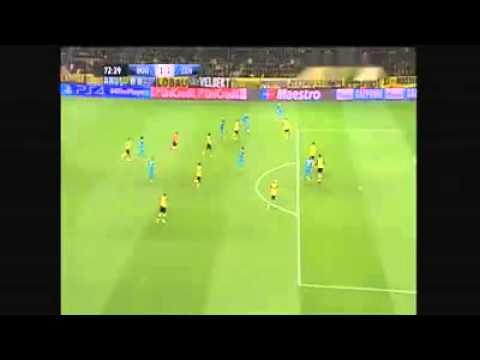 UCL // 73' Salomón Rondon Goal - Borussia Dortmund 1-2 Zenit (19/03/2014) HD
