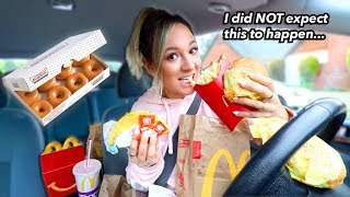 Letting The Person In Front of Me Decide What I Eat for 24 Hours Challenge!