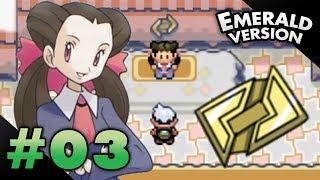 Let's Play Pokemon: Emerald Part 3 Rustboro Gym Leader