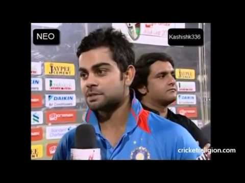 Iam a Big Fan Of Rohit Sharma:Virat Kohli
