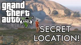 GTA 5 Secret Cave Location (Grenade Launcher And Letter