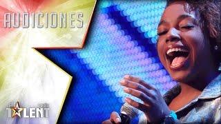 ¡Pase de Oro! ¡Espectacular chorro de voz de Yaneisy! | Audiciones 3 | Got Talent España 2017