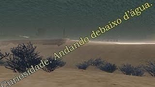 GTA San Andreas D&C ''Curiosidade. Andando Debaixo D'água