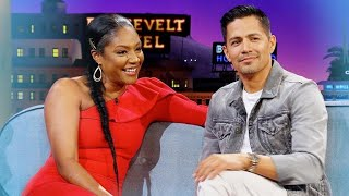 Tiffany Haddish & Jay Hernandez Shoot Their Shots
