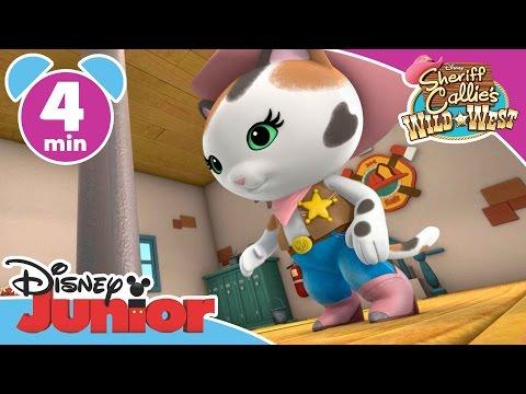 Sheriff Callie | Fire Engine Fuss | Disney Junior UK