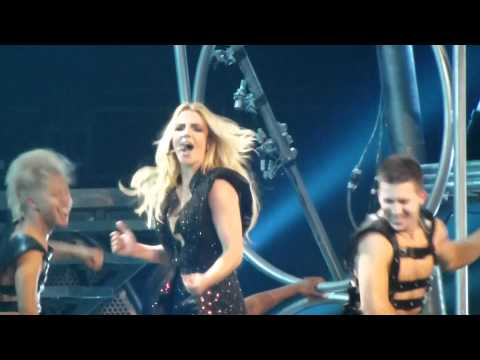 Britney Spears - Femme Fatale Tour - Till The World Ends in Columbus Ohio on Aug 20, 2011