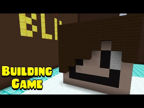 What color? Green? - Minecraft: The Building Game - Episode 19