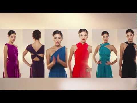 The TWIST Wrap Dress - Convertible Dress - Dessy.com