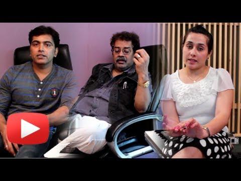 Hariharan & Guru Thakur - Music Recording - Latest Marathi Movie Saam