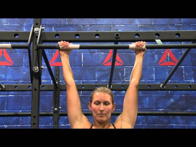 "Reebok CrossFit ONE Movement Demo ""Toes to Bar"""