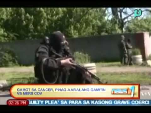 Globalita: Gamot sa cancer, pinag-aaralang gamitin vs. MERS-CoV || May 8, 2014