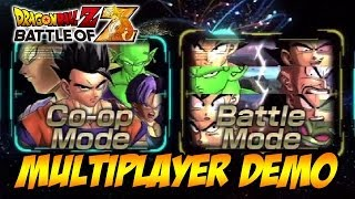Dragon Ball Z: Battle Of Z PS3/X360/PSVITA Demo