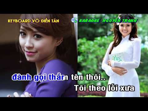 [Karaoke nhạc sống] Người Tình Không Đến (Tone nam) - Beat: Võ Điền Tân