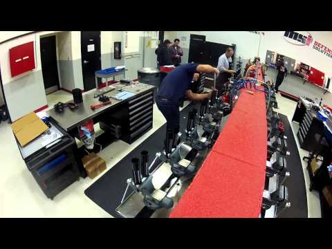 How its made | Time laps assembly of 20 Detroit Speed Camaro Shocks by