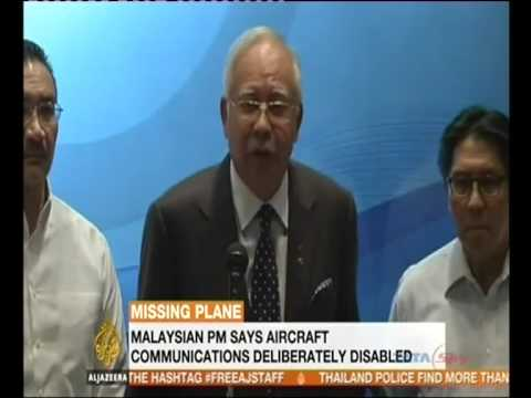 Malaysia Airlines MH370: flight 'deliberately disabled'