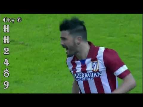 Celta Vigo vs Atletico Madrid 0-2 ~ David VILLA GOALS HD ~ Celta 0 2 Atletico Madrid ~ 08-03-2014