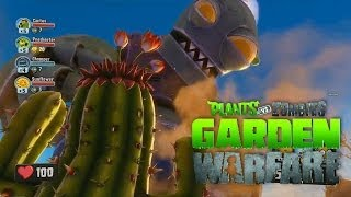 PLANTAS VS ZOMBIES: GARDEN WARFARE Co-op Gameplay