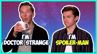 Tom Holland & Benedict Cumberbatch Funny Moments (Avengers Infinity War)