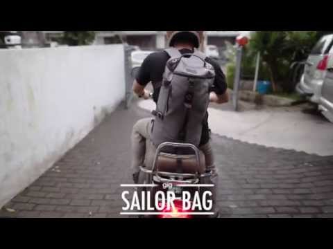 TAS SELEMPANG / BACKPACK / DUFFEL SAILOR MILITER AS BACKPACK