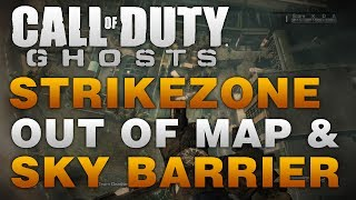 COD Ghosts Glitches Out Of The Map & Sky Barrier On