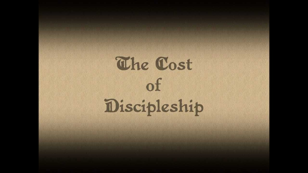 the bigger picture of discipleship in the book the cost of discipleship by dietrich bonhoeffer