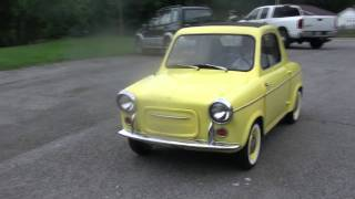 Yellow Vespa 400 that was on ebay now sold