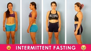 We Tried Intermittent Fasting For A Week 😱 (feat. Candace Lowry)