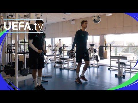 UEFA Youth League Skills challenge: Real Madrid CF