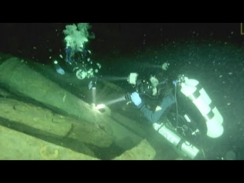 'Cursed' 'Mars' shipwreck unearthed, explored
