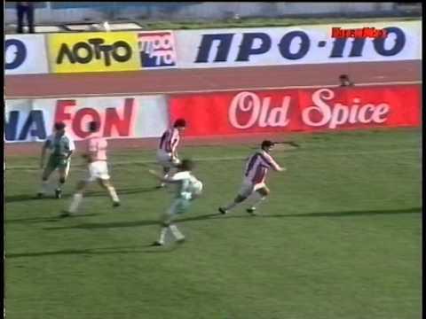 (HQ) 1995 Olympiakos - Panathinaikos 2 - 3 01.03.1995 2ος Προημ. Κυπέλλου