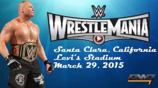 "WWE WrestleMania 31 Official Theme Song ""Rise"" By David"