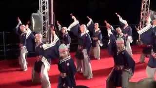 よさこい東海道2013【よさこい祭り振興会会長賞】上総組