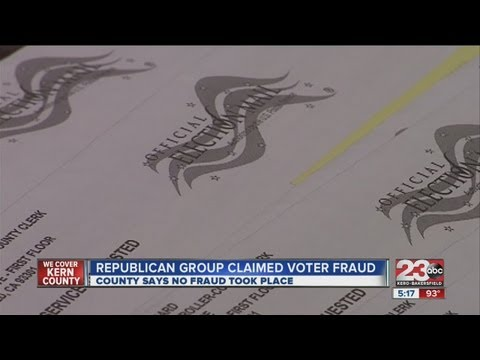 California Republican National Hispanic Assembly claims voter fraud, elections office disagrees