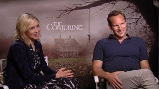 Vera Farmiga & Patrick Wilson The Conjuring Interview HD