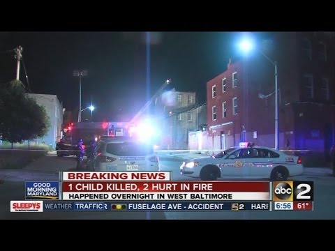 7-year-old dies saving siblings from Md. house fire