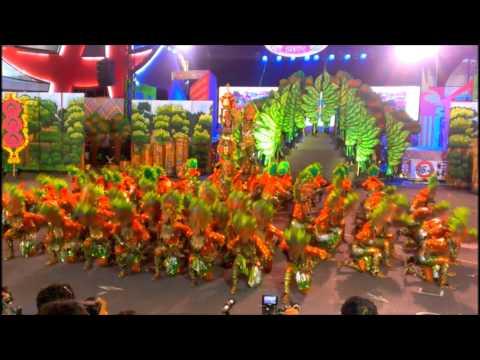 Aliwan Fiesta 2014: Sinulog Tribu Basakanon (Cebu)