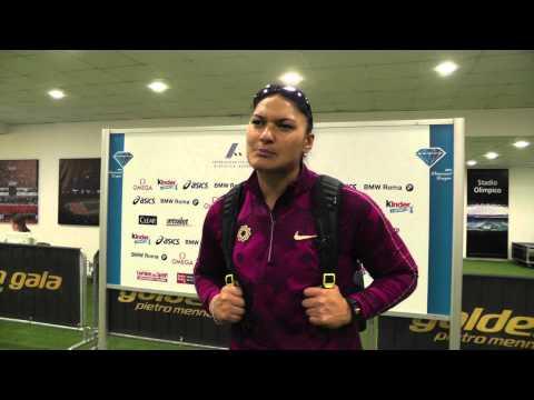 2014 IAAF Diamond League Rome - Valerie Adams