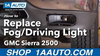 How To Install Replace Broken Foglight GMC Sierra Yukon