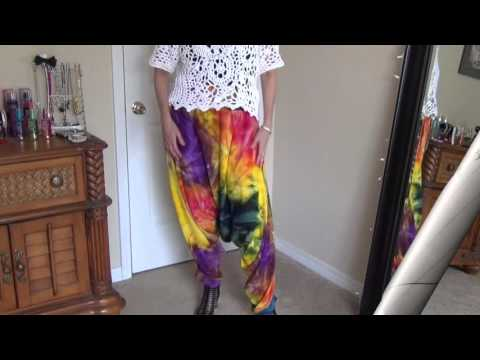 How to Sew Harem Pants Pt 1