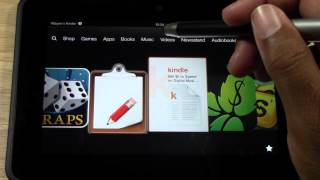 Kindle Fire HD How To Take Pictures (Part 2) From