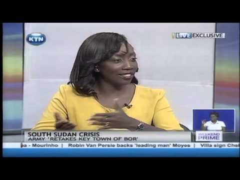 South Sudan crisis interview with Yvonne Okwara and Rebecca Garang