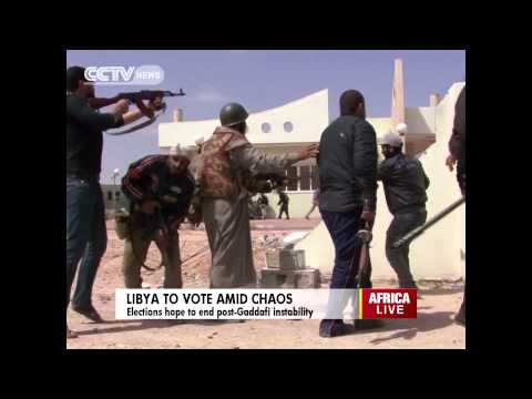 Libya to Hold Amid Chaos Elections